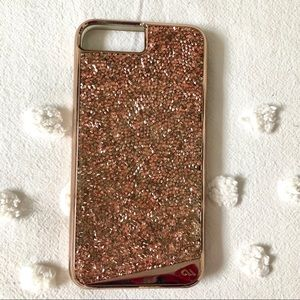 Case-Mate Rose Gold Crystal Case for iPhone 8 Plus